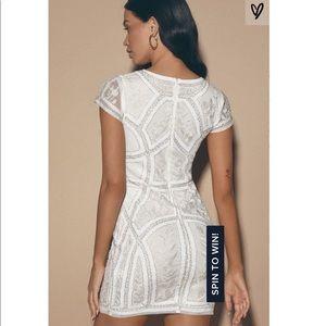 NWT Lulu's Spread Your Shine Lulu's Sequin Dress